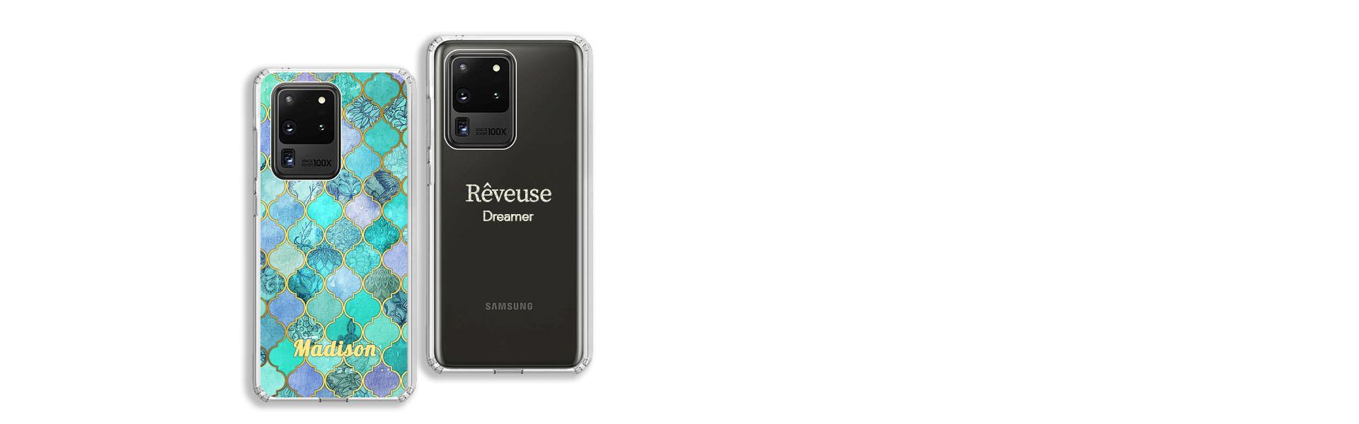 Samsung Galaxy S20 Ultra Hülle Selbst gestalten